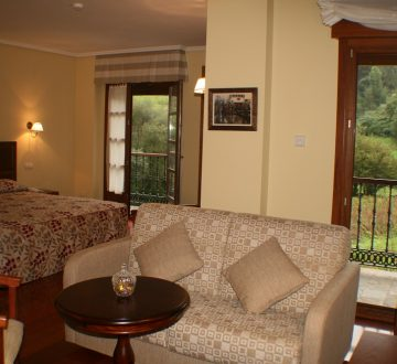 H. Junio Suite. Terraza.