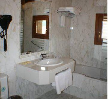 baño arco
